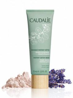 Caudalie - Masque instant détox : gel-crème pour pores resserrés et teint lumineux.
