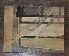 Andrew Wyeth Photo of the Wind from the Sea mounted on a Wooden Panel.