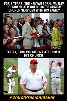 I have ZERO respect for anyone who swallowed the idea that Trump was Christian and Obama was not. Idiots all.