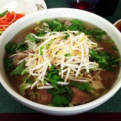 Love Pho!  Healthy and it tastes awesome.  Great for those cold days, but I will eat this anytime.