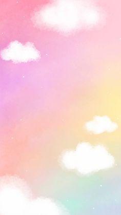 Cute Pastel Wallpaper, Rainbow Wallpaper, Cute Patterns Wallpaper, Iphone Background Wallpaper, Cute Disney Wallpaper, Kawaii Wallpaper, Love Wallpaper, Aesthetic Iphone Wallpaper, Galaxy Wallpaper