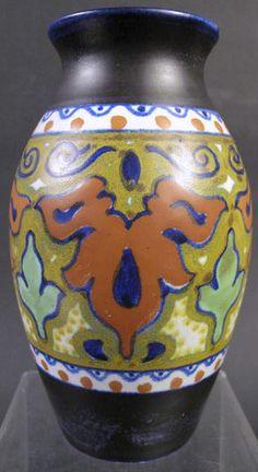 Gouda Art Pottery Vase,Ca -1924