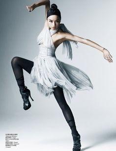Vogue China - Princess of Ballet  by Kai Z Feng Blog, via Flickr