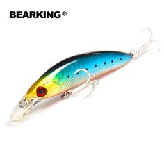 Retail,BEARKING hot model,A+ fishing lures,fishing tackle bait popper,80mm&13g,Crankbait vib hard baits minnow penceil bait #Affiliate