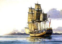 Recreación del mítico Endeavour. James Cook, Sailing Ships, Boat, Australia, 16th Century, Holland, Dinghy, Boats, Sailboat