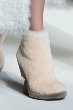 Fendi. From Tibi in New York to Vionnet in Paris, see all the furry feet walking the runway during fashion month.