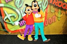 Goofy and his son, Max!
