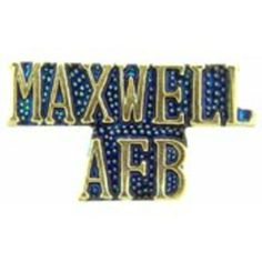 """U.S. Air Force Maxwell AFB Pin 1"""" by FindingKing. $8.99. This is a new U.S. Air Force Maxwell AFB Pin 1"""""""