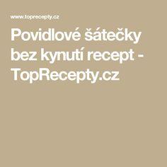 Povidlové šátečky bez kynutí recept - TopRecepty.cz
