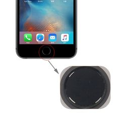 [USD1.41] [EUR1.27] [GBP1.01] iPartsBuy Home Button Replacement for iPhone 6S Plus(Black)