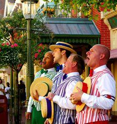 The Dapper Dans, Main Street #Disneyland