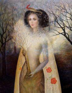 After Winter Spring is Coming - Daniela Ovtcharov Art Et Illustration, Illustrations, Modern Art, Contemporary Art, Magic Realism, Vladimir Kush, Art For Art Sake, Surreal Art, Art Images