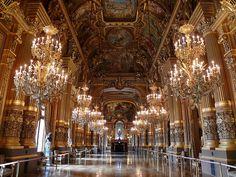 Palais Garnier, Paris Opéra, le Grand Foyer