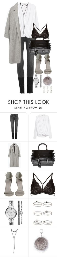 """""""Untitled #133"""" by marinas-clothes ❤ liked on Polyvore featuring Frame Denim, H&M, Zara, Yves Saint Laurent, Janiero, FOSSIL, Miss Selfridge, Forever 21 and MICHAEL Michael Kors"""