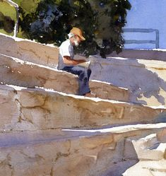 Mike Kowalski Watercolor Paintings, Watercolours, Drawings, Portraits, Art, Drawing Drawing, Water Colors, Art Background, Kunst