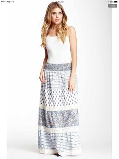 Maxi Skirt so cute this skirt Long Skirt Fashion, Maxi Skirt Style, Dress Skirt, Fashion Dresses, Cute Everyday Outfits, Printed Maxi Skirts, Casual Dresses, Maxi Dresses, Women's Summer Fashion