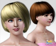 Emma's Simposium: Free Hair Pack #122 By PeggyZone - Donated/Gifted!!!