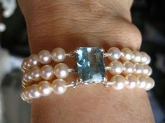 Princess Diana Pearl Bracelet