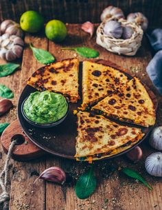 These easy Vegan Sweet Potato Quesadillas loaded with blacks bean, corn and dairy-free cheese make a perfect quick meal or snack. They're gluten-free, healthy, flavorful, cheesy and very simple to make. Sweet Potato Recipes, Spinach Stuffed Mushrooms, Stuffed Peppers, Quesadillas, Mexican Food Recipes, Vegetarian Recipes, Healthy Recipes, Sweet Potato Quesadilla, Recipes