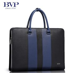 BVP High-end Men Cowhide Lawyer Hard Briefcase Multicolor Zip Lock Document Bag  #BVP #SuitGarmentBag
