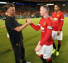 """Van Gaal on #WayneRooney: """"I think he deserved to win Player of the Tournament because he gave a lot of assists and scored goals."""" #mutour"""