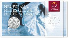 5 Euro Silber 150 Jahre Donauwalzer PN