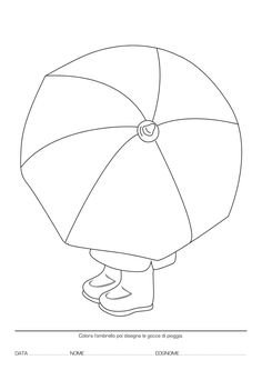 Best 10 Girl Holding an Umbrella Spring Coloring Page – SkillOfKing. Spring Coloring Pages, Mandala Coloring Pages, Halloween Crafts For Kids, Fall Crafts, October Crafts, 3rd Grade Art, Umbrella Art, Autumn Art, Elements Of Art