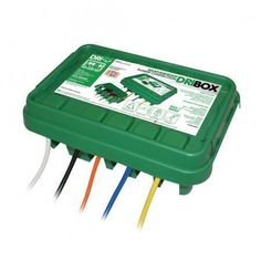Image of 285 Outdoor Waterproof/Weatherproof Cable Connection Dry Box - Green