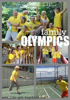 famili reunion, family crafts, parti, famili olymp