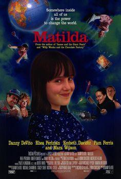 Matilda, gran cuento de Dahl, gran pelicula