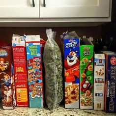 Which cereal would you pick?? Lol ♡♡