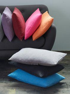 Salon POPPY- Alinéa - Jeu concours Pinterest - A gagner : Un canapé d'une valeur de 499€ ! Jouez sur : https://www.pinterest.com/alinea/les-salons-color%C3%A9s/