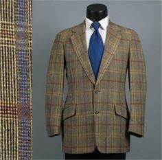 Vintage Mens Sport Coat Jacket 1960s 1970s BILL by jauntyrooster, $85.00