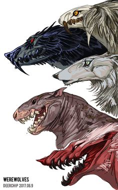 Werewolves by madlab666