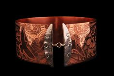 Copper and Silver Collar. Truly a singularly talented artist, with some of the most unique things I have ever seen.