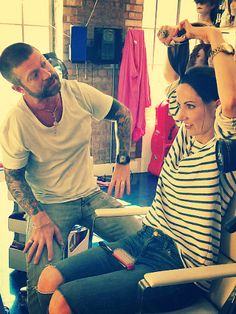 Lee Stafford seen him in action.. Awesome stylist!!