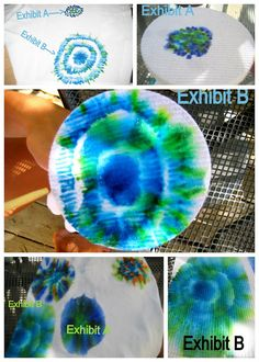 Sharpie tie dye --- this would be really cute on a white pillow!