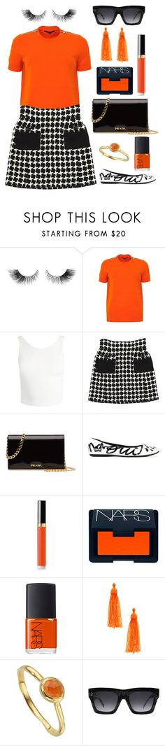 """""""Shopping days in Paris 🗼🥐"""" by theodor44444 ❤ liked on Polyvore featuring Gucci, Sans Souci, Chanel, Prada, Roger Vivier, NARS Cosmetics, Kenneth Jay Lane, Monica Vinader, CÉLINE and paris"""