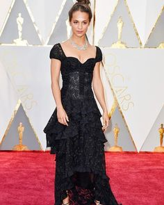 Alicia Vickander always looks effortlessly chic on the red carpet included #Oscars2017 wearing @louisvuitton   via VOGUE THAILAND MAGAZINE OFFICIAL INSTAGRAM - Fashion Campaigns  Haute Couture  Advertising  Editorial Photography  Magazine Cover Designs  Supermodels  Runway Models