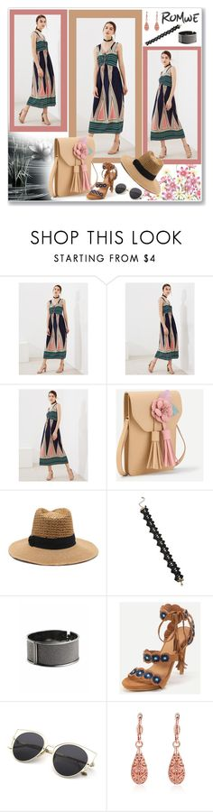 """www.romwe.com-XLVI-7"" by ane-twist ❤ liked on Polyvore featuring romwe, outfits and sumer"