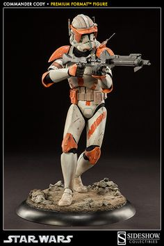 Star Wars Commander Cody Premium Format(TM) Figure by Sideshow | Sideshow Collectibles