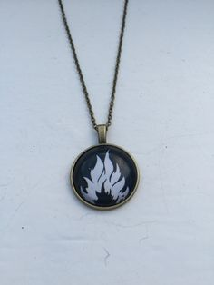 Divergent Dauntless Faction Necklace by TheHalfBloodMerch on Etsy