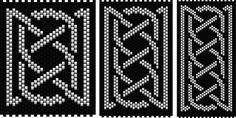 Celtic Knot Ribbon 1 (peyote stitch)