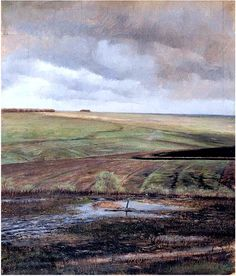 Ivan Pokhitonov - Steppe in the Spring Eurasian Steppe, Barbizon School, Russian Landscape, Constructivism, Russian Art, Zoology, Abstract Landscape, Impressionist, Spring Time