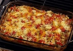 Cowboy Chicken Casserole Recipe : Emeril Lagasse : Food Network - Internmediate but easy to make dinner Cowboy Chicken Casserole Recipe, Casserole Recipes, Grits Casserole, Mexican Casserole, Cowboy Casserole, Tortilla Casserole, Spinach Casserole, Spaghetti Casserole, Noodle Casserole