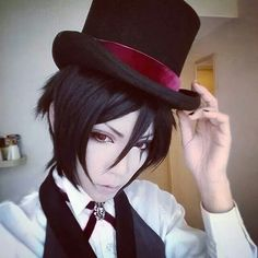 Yuegene Fay as Sebastian Michaelis. Kuroshitsuji Book of Circus cosplay ♥