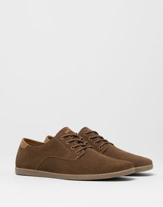 Pull & Bear Hide Casual Shoes