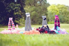 Tights, stripes, and tutus