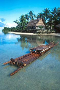 Yapese Boat House