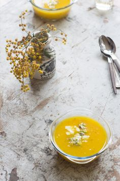 Saffron Yellow Pepper Soup | 101 Cookbooks